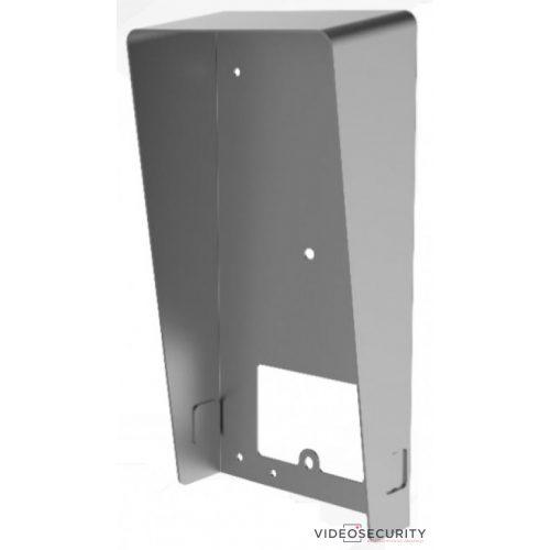 Hikvision esővédő keret DS-KV8113 típusú felületre szerelt társasházi IP video-kaputelefonokhoz (DS-KABV8113-RS/Surface)