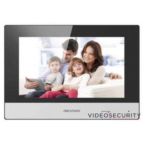 """Hikvision DS-KC001 Beltéri egység testhőmérséklet mérős beléptető terminálokhoz 7"""" LCD 1024x600 felbontás Android"""