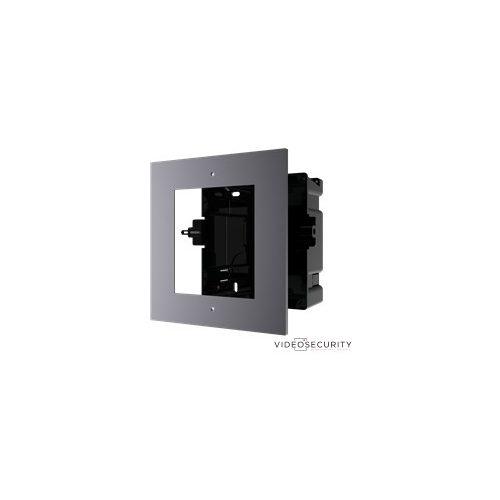 Hikvision DS-KD-ACF1 Társasházi IP video-kaputelefon szerelőkeret süllyesztéshez 1 modulos verzió