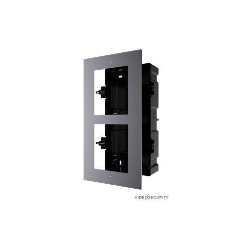 Hikvision DS-KD-ACF2 Társasházi IP video-kaputelefon szerelőkeret süllyesztéshez 2 modulos verzió