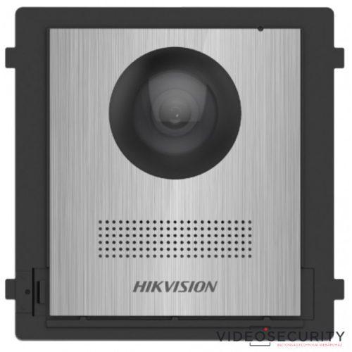 Hikvision DS-KD8003-IME1/NS Társasházi IP video-kaputelefon kültéri főegység gomb nélkül moduláris rozsdamentes acél