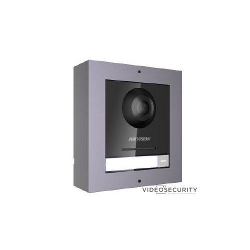 Hikvision DS-KD8003-IME1/Surface/EU IP video-kaputelefon kültéri főegység fém felületre szerelhető kötődobozzal 48 V PoE