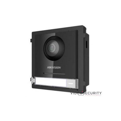 Hikvision DS-KD8003-IME1 Társasházi IP video-kaputelefon kültéri főegység; fém; moduláris; 48 V PoE