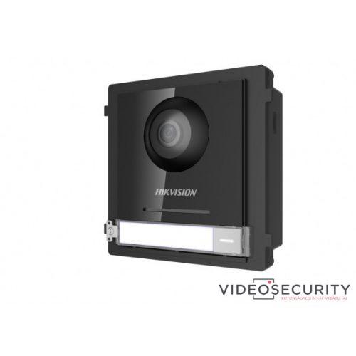 Hikvision DS-KD8003-IME2 Társasházi IP video-kaputelefon kültéri főegység fém moduláris 2 vezetékes
