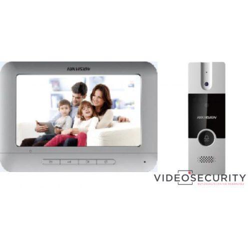 Hikvision DS-KIS204 Analóg video-kaputelefon szett kültéri egységgel pillanatkép-rögzítés