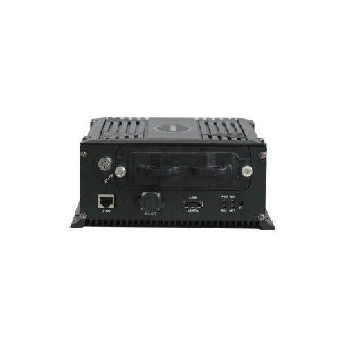 8 csatornás mobil NVR; 1080p@25fps; beépített 4G modem és WiFi; 8xPoE