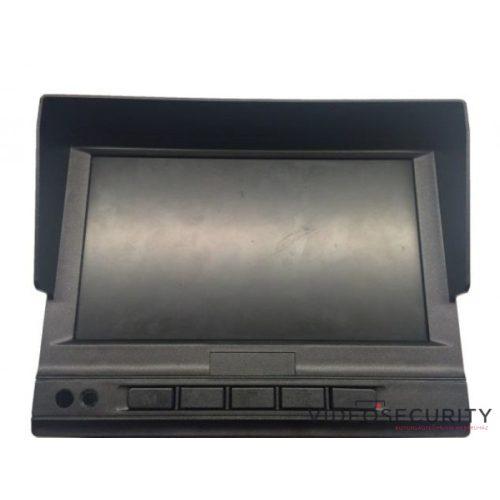 """Hikvision DS-MP1301/Bracket 7"""" LCD monitor mobil rögzítőhöz 3 videojel és 2 alarm bemenet"""