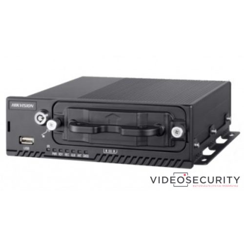 Hikvision DS-MP5604 (1T) 4+4 csatornás mobil hibrid DVR 1080P@12fps 720@25fps GPS beépített 1TB HDD