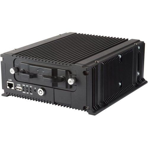 8 csatornás hibrid mobil DVR; 1080p@25fps; beépített 3G modem