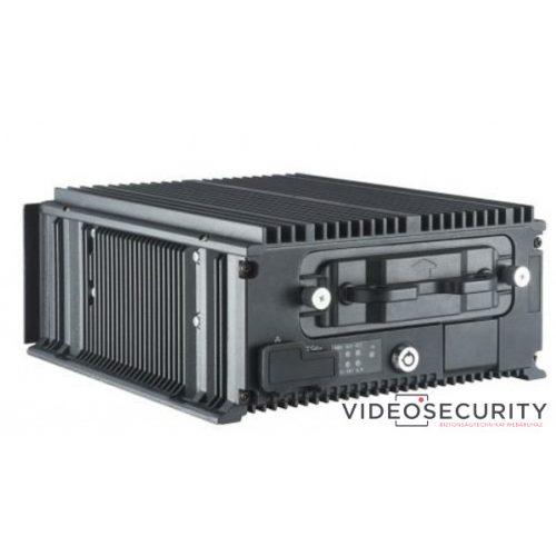 Hikvision DS-MP7608HN/GW (1T) 8 csatornás mobil NVR 1080p@25fps GPS és 3G modem támogatás beépített 1TB HDD