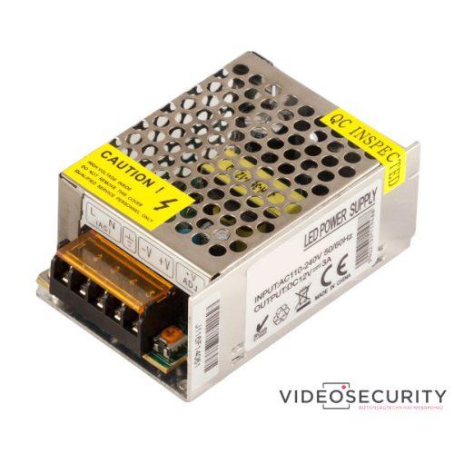 Nestron DSA-12PNG-12-3A Nyitott tápegység 12 VDC/3 A