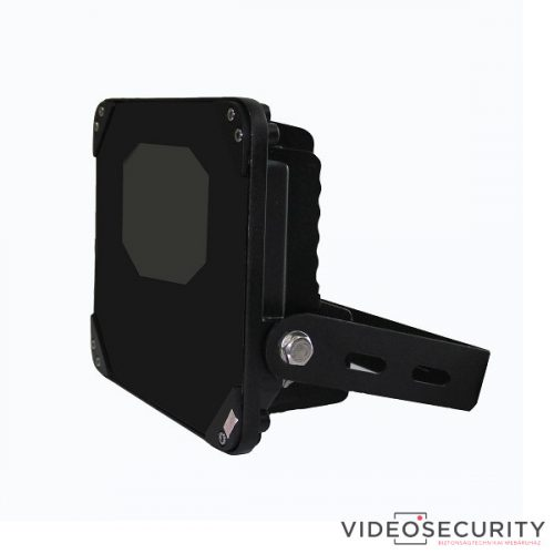 Nestron IRLBS60/50/12-BLACK High power infralámpa - B Line/szögletes/60°/50 m/12 VDC fekete