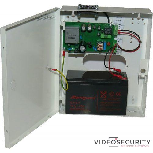 Makrai ME.140-14/10ASW-PKDI Dobozolt szünetmentesíthető tápegység 230 VAC/12 VDC-13,8 VDC 10 A akkumulátor töltés