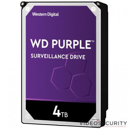 Western Digital WD40PURZ WD Purple 4 TB biztonságtechnikai merevlemez 24/7 alkalmazásra nem RAID kompatibilis