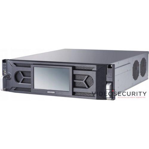 Hikvision iDS-96128NXI-I16 (B) 128 csatornás DeepinMind NVR 512/512 Mbps ki-/bemeneti sávszélesség riasztás be- és kimenet